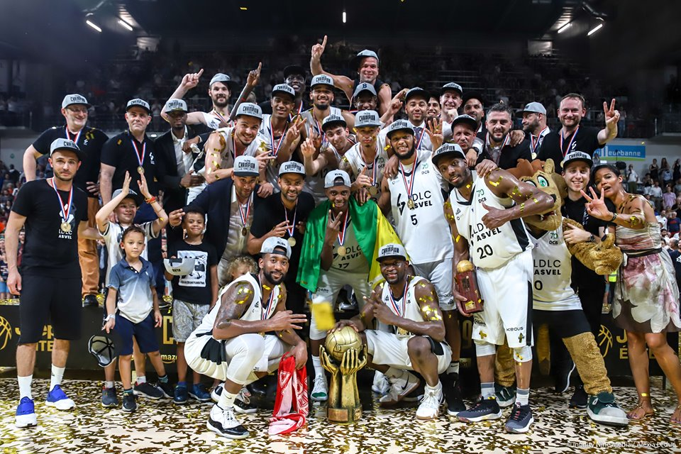 L'Asvel championne de France