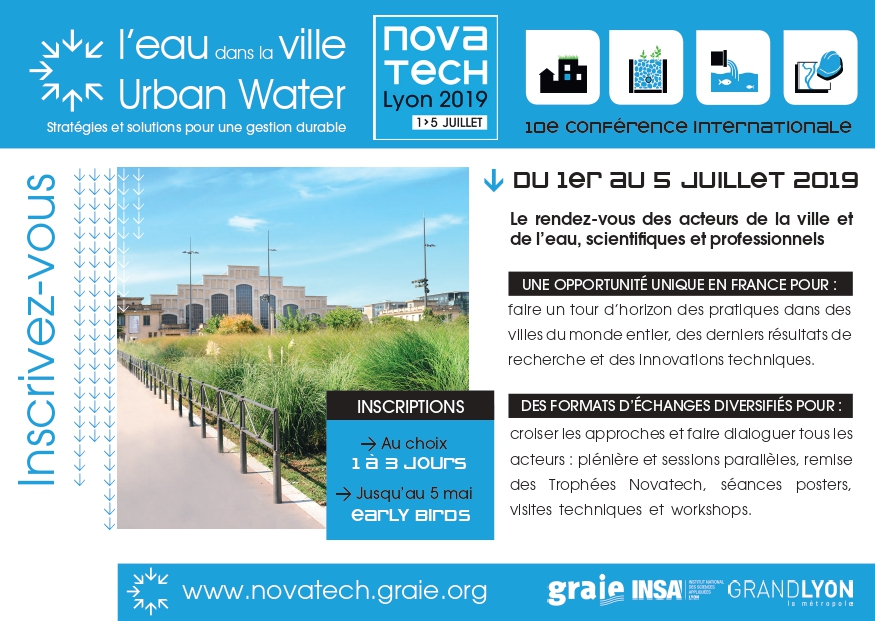 Pour une gestion durable de l'eau en ville