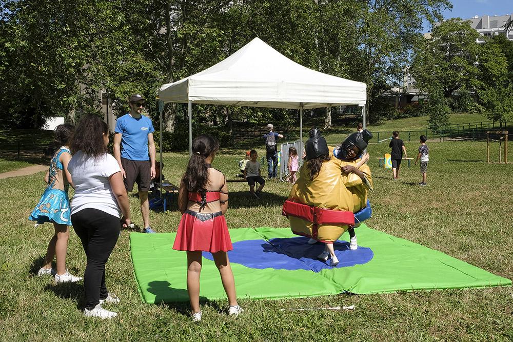 Fête du sport Tonkin conseil de quartier