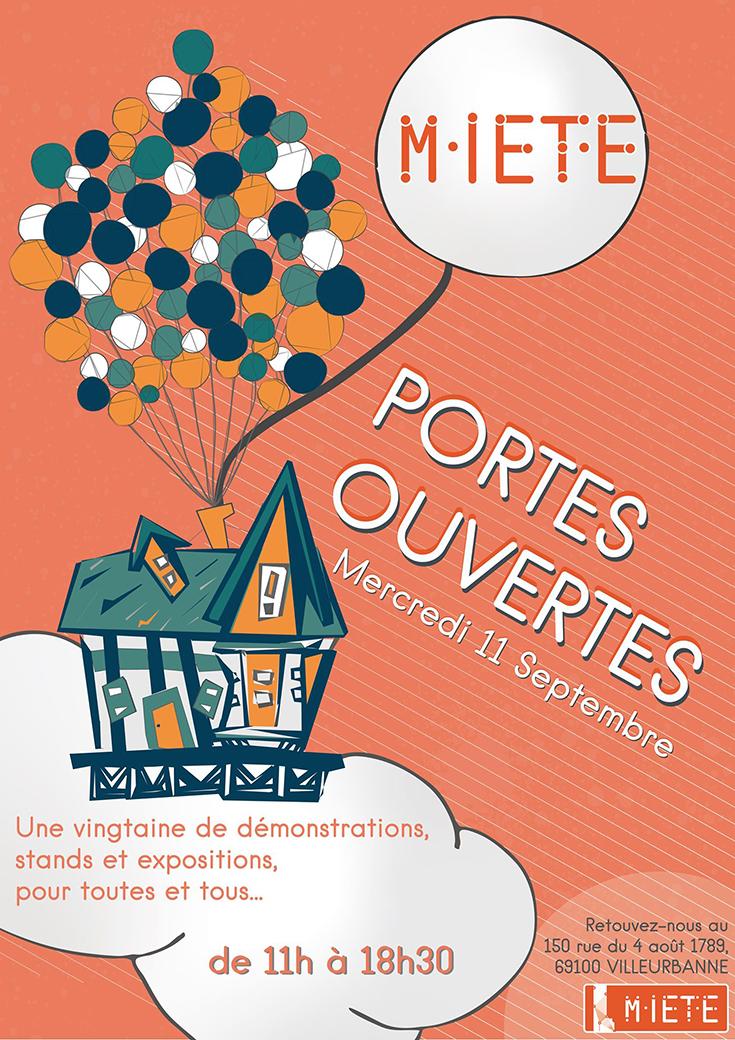 Portes ouvertes : association La Miete