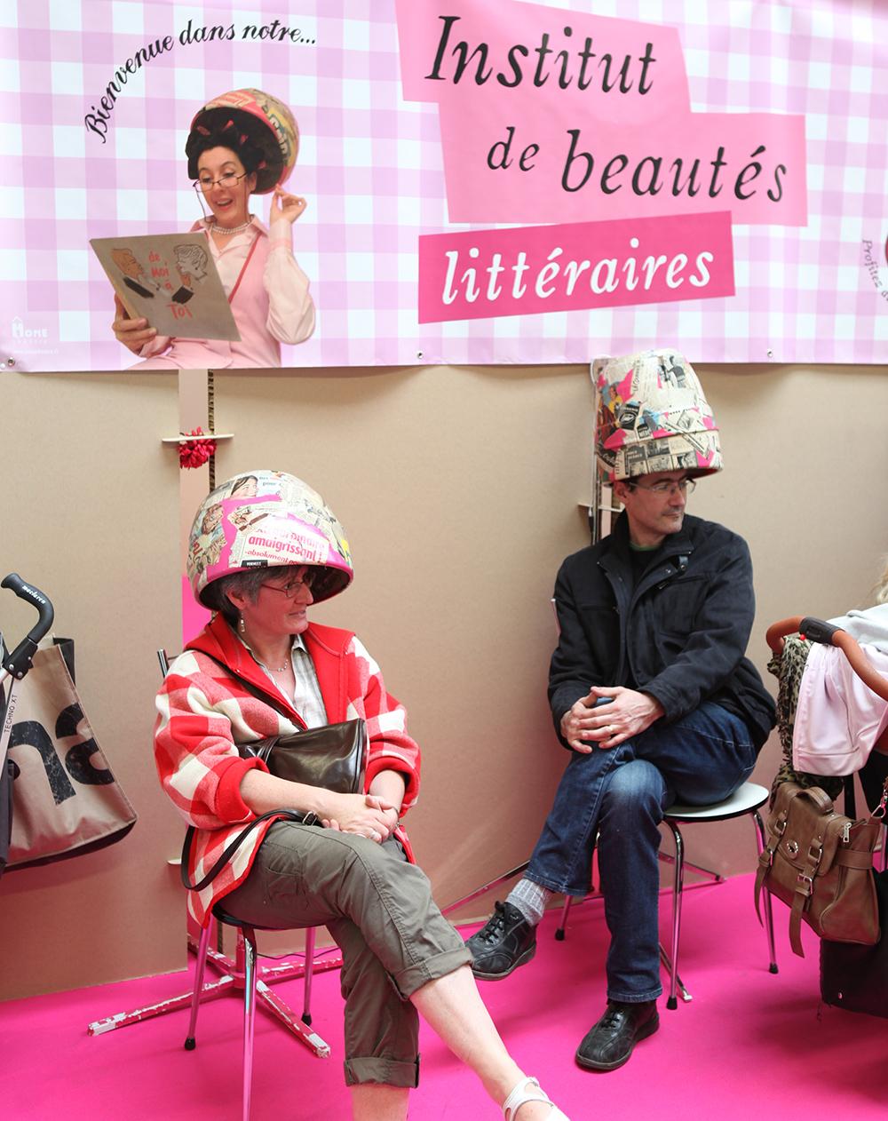 Fête du livre jeunesse : Institut de beautés littéraires.