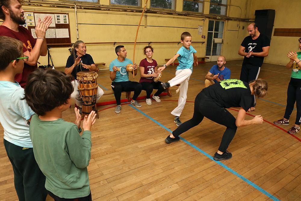 Pratique de la capoeira