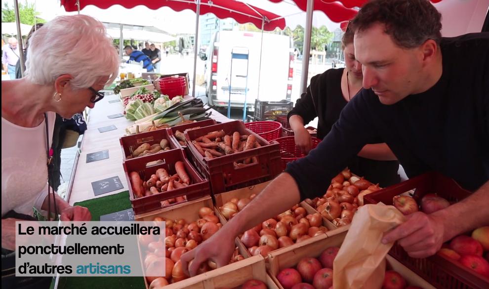 Esplanade Makeba : un marché à découvrir !