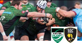 Asvel Rugby vs Chambery