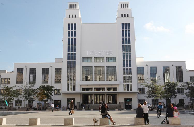 Le théâtre nationbal populaire de Villeurbanne (TNP)