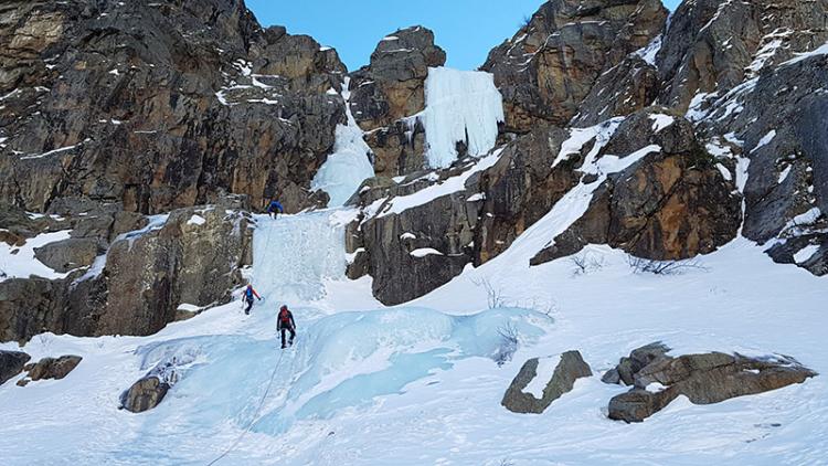 Cascade de glace - ©Club Alpin Français