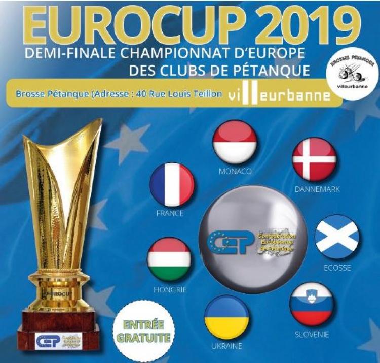 Calendrier Championnat De France Petanque 2019.L Eurocup 2019 De Petanque Passera A Villeurbanne