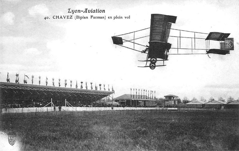 Les premiers vols au grand camp (© DR)