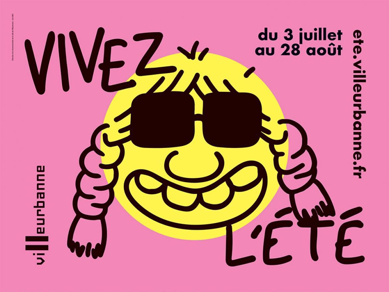 Vivez l'été à Villeurbanne !