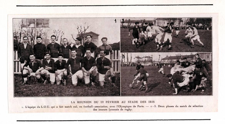 L'équipe du LOU en 1922