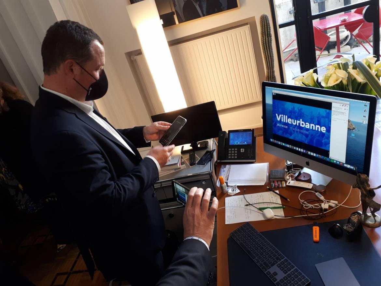 Le maire Cédric Van Styvendael à l'annonce du verdict envoyé par le ministère de la Culture sur les réseaux sociaux.