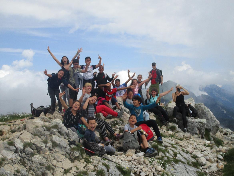 L'air des montagnes pour des élèves de 6e du collège Jean-Jaurès