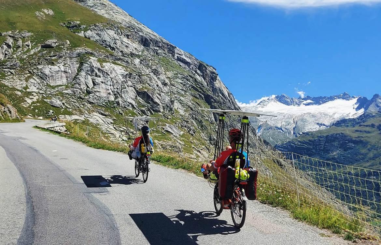 Le tour de France à vélo solaire de Cécile et Victor Gondras