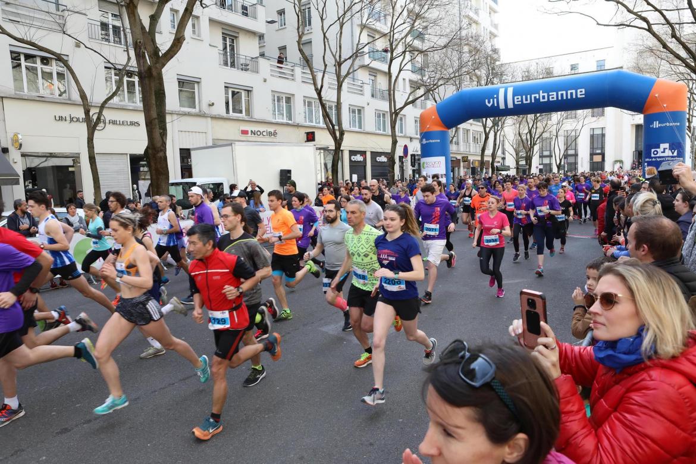 Foulées de Villeurbanne : Record de fréquentation