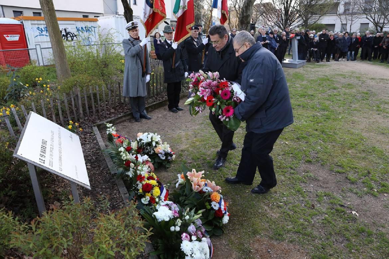 Un hommage aux victimes civiles et militaires de la guerre d'Algérie et des combats en Tunisie et au Maroc