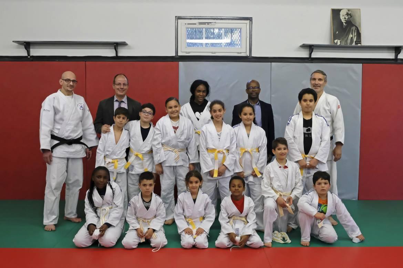 Félicitations aux petits judokas !
