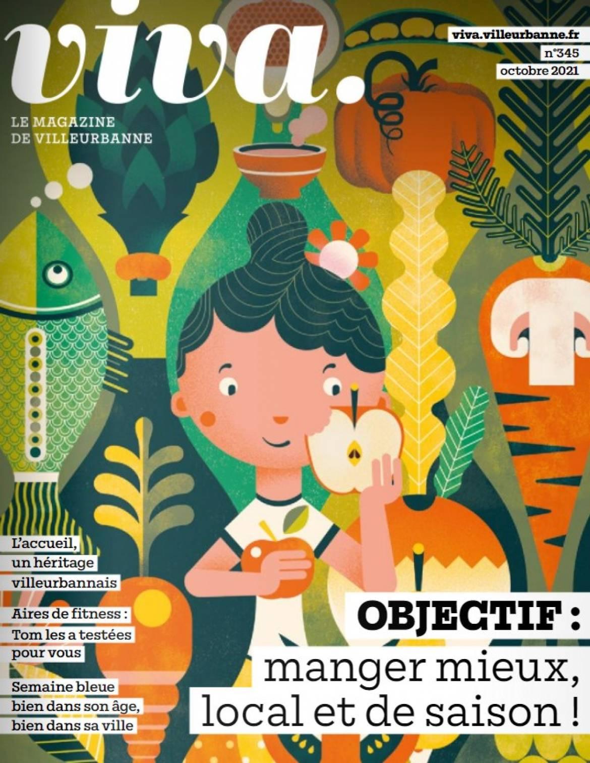 Viva magazine octobre