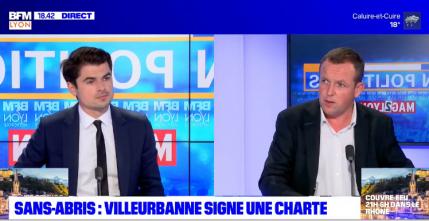 Lyon Politiques: Cédric Van Styvendael, maire (PS) de Villeurbanne