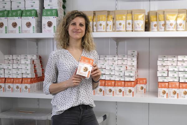 Marie Garcia, nutritionniste certifiée et fondatrice de l'entreprise Cinq Sans