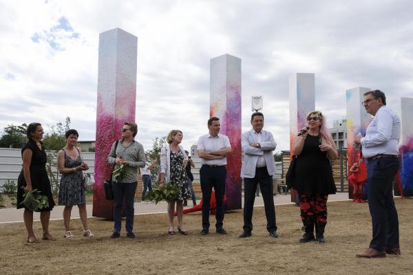Esplanade Miram-Makeba - inauguration