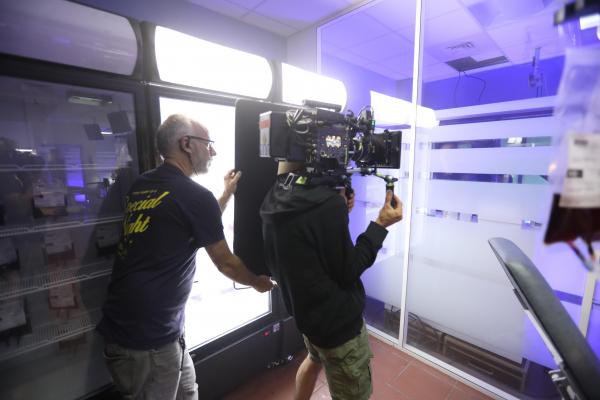 Le tournage des « Rivières pourpres » passe par Villeurbanne