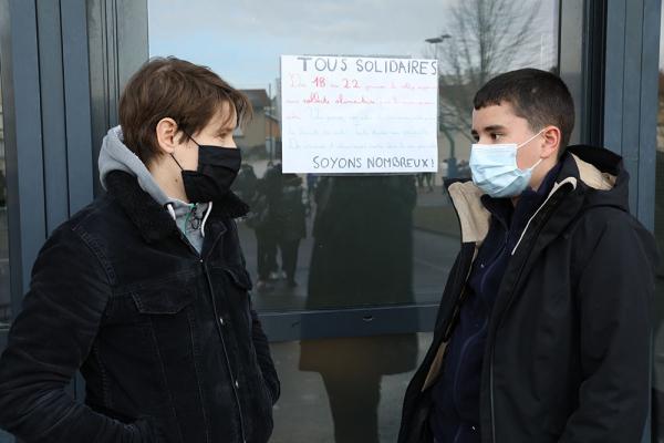 Au collège Jean-Macé : la solidarité organisée !