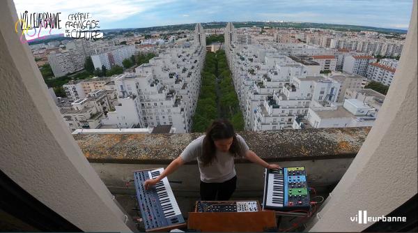 Quentin Audemard, DJ et étudiant à l'École Nationale de Musique de Villeurbanne,