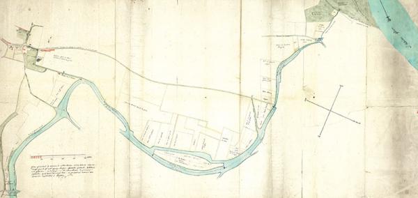 Plan de Saint-Jean 1823 (©DR)