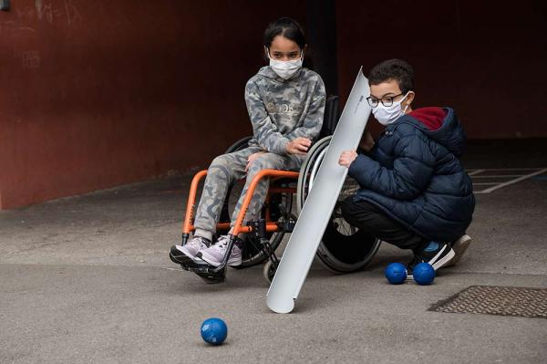 L'Usep sensibilise les enfants au handicap