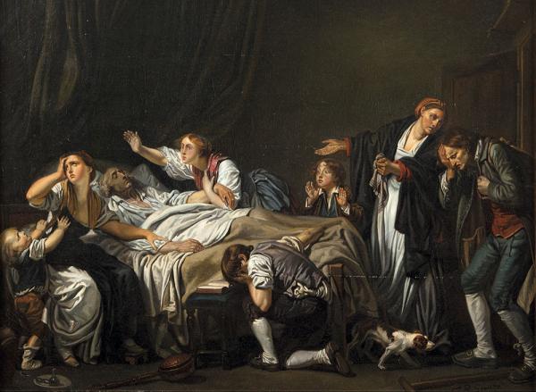 """Jean-Baptiste Greuze """"Le Fils puni"""" 1778. Musée du Louvre"""