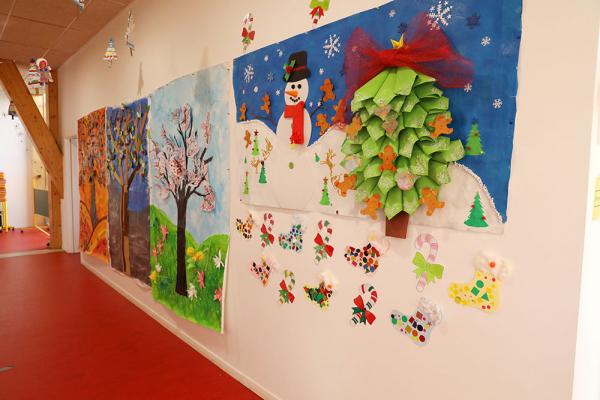 PÉRISCOLAIRE - L'école Berthelot en habits de fêtes