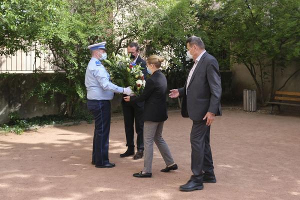 Une cérémonie s'est déroulé à Villeurbanne, ce samedi 24 avril à 11h, au square de la Déportation.