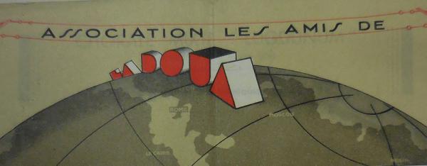 En tête Amis de la Doua, 1935 (©DR)