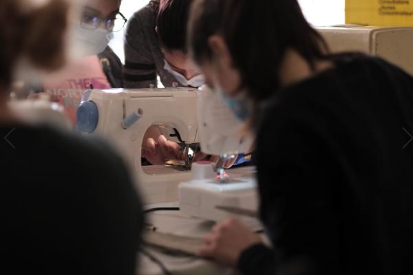 Atelier de conception « DIY » au BIJ de Villeurbanne en partenariat avec l'association Gaelys.