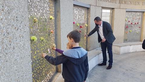 Villeurbanne se souvient du génocide des Arméniens