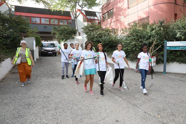 Les élèves du collège du Tonkin ont ramassé 211 kilos de déchets