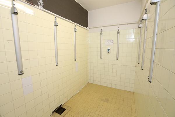 Les Bains-douches, installées sur le site du stade Georges-Lyvet à Villeurbanne
