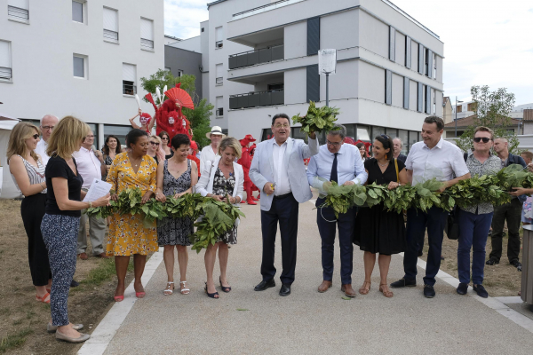 Inauguration Parc Jorge-Semprun