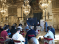 Le maire de Villeurbanne Cédric Van Styvendael était présent ce lundi en préfecture lors de la conférence de presse dupréfet de la région Auvergne-Rhône-Alpes Pascal Mailhos.